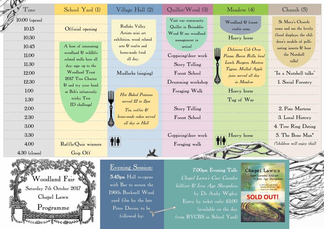 Woodland Fair programme-2